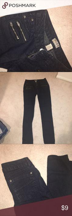 Black Jeans super cute black denim with pocket detailing on the front Jeans