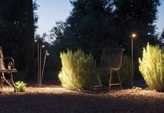 Fantastiche immagini in illuminazione giardino su
