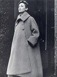 Balenciaga 1950 coat, inspired by Basque fisherman's coats