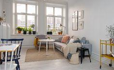 Un appartement à la déco éclectique - Sur Shake My Blog, on adore la déco scandinave vous le savez... on aime aussi les ambiances chaleureuses... alors forcément on ne pouvait que tomber sous l