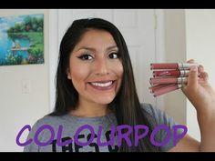 MIS LABIALES DE COLOURPOP| OPINION Y MUESTRAS! | Alexandra - YouTube