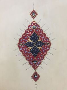Musa Akkaya, Tezhib Islamic Art Pattern, Pattern Art, Arabesque, Persian Motifs, Collage Design, Egg Decorating, Graphic Prints, Screen Printing, Sketches