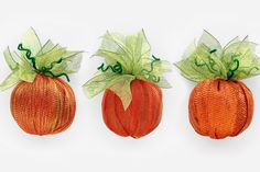 [Video] DIY Deco Mesh Pumpkins  | Papermart.com | Papermart.com