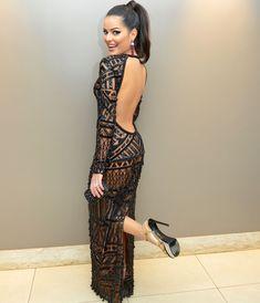 Vestido chiquérrimo, da minha chará Mariah.