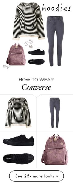 """Hoodies"" by starmint on Polyvore featuring Converse, See by Chloé and Hoodies"