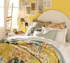 pottery barn patchwork quilt