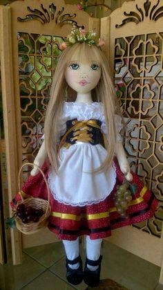 Bonecas de pano  Soraia Flores