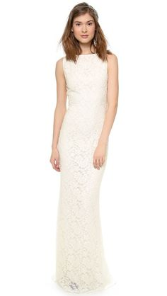 Another option, they just keep coming up! alice + olivia Sachi Open Back Gown