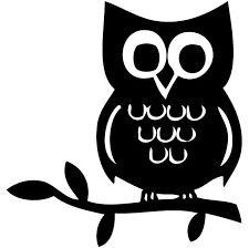 cute cartoon owl silhouette - Google Search