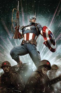 Astonishing Captain America #1 - Adi Granov