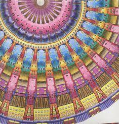 Steve McDonald Fantastic Cities Wasserburg Mandala