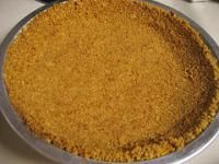 3 Ingredient, gluten free pie crust
