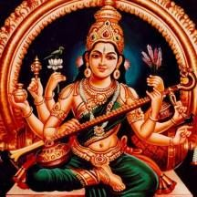 'Music is a Discipline and a Mistress of Good Manners, she makes the people milder and gentler, more Moral and more Reasonable'' - Martin Luther King. Saraswati Devi, Durga Maa, Indian Gods, Indian Art, Old Song Download, Spiritual Stories, Lord Shiva Hd Wallpaper, Kali Goddess, Hindu Deities