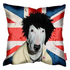 Punk Pets Rock Cushion