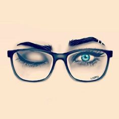 Glasses. Alyss.