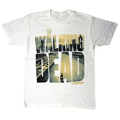 The Walking Dead- In Logo T-shirt
