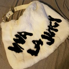 For Sale: Juicy Couture rabbit fur purse for $250