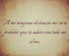 Ninguna distancia