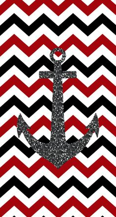 Chevron anchor iphone background