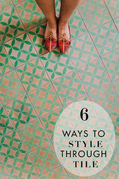 6 WAYS TO STYLE THRO