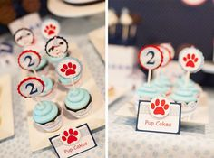 Polka Dot Puppy Paw-ty | CatchMyParty.com