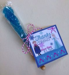 Cute Disney Frozen Party Favor from Etsy! Featured @ www.partyz.co !