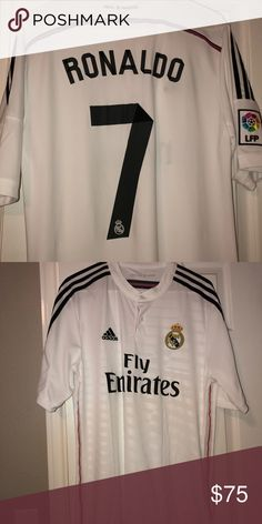 c465496df Real Madrid Ronaldo Jersey Ronaldo #7 Jersey Never worn New - Without tags  adidas Other