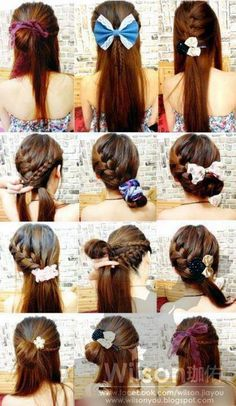 wish I knew how to braid like this :/