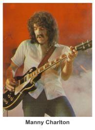 Manuel Charlton (July 25, 1941) American guitarist of the band Nazareth.