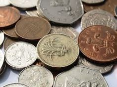 Finding change at the bottom of your handbag