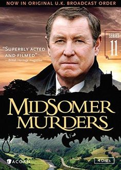 Midsomer Murders, Series 11 (Reissue)Factory sealed DVD John Nettles, Midsomer Murders, English Online, Movie Tv, Tv Series, Cool Things To Buy, Nostalgia, Mystery