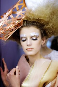 Backstage: Christian Dior, Haute Couture Fall/Winter 2011.