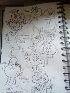 Moje piekne rysowanie swiezakow wygladaja jakby sie nacpqly