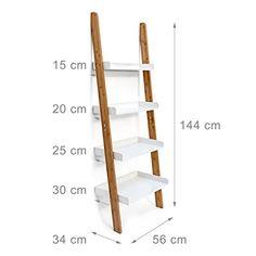 Wooden Projects, Diy Furniture Projects, Furniture Plans, Diy Home Crafts, Easy Home Decor, Diy Bookshelf Design, Ladder Shelf Decor, Cozy Home Office, Dressing Table Design