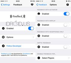 Cydia Tweak Feedback v1.5 | idevice and android news