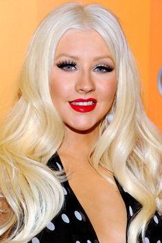 christina aguilera platinum blonde