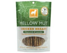 Mellow Mut, Chicken Breast, Treats for All Dogs, 5 oz (141.7 g),Resealable Package, Cage Free Chicken,Natural with Added Vitamin E, Helps Maintain a Happy, Healthy Lifestyle, No Antibiotics, No Added Hormones, No Antibiotics, No Fillers, No Byproducts, Enriched with Antioxidants, Rich in Protein, Digestible, Low in Fat
