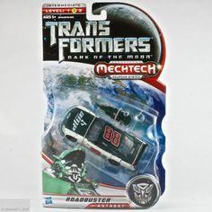 Transformers Dark of the Moon Roadbuster Autobot Deluxe Class MechTech Hasbro  #Hasbro