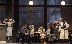 C'est à Paris, un Paris à la fois légendaire et bien réel, au temps éternel de la bohème. De cette simplicité sourd le surnaturel, une émotion toujours nouvelle et irrépressible. Dans La Bohème, Puccini a su créer des images fortes : Mimi entrant  une bougie à la main dans la chambre du poète, le duo d'amour sous la lune, le grand café illuminé, les adieux impossibles dans le matin glacé, la mort enfin sur le lit misérable.