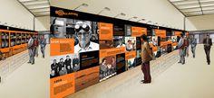 Gallagher 75th History Wall Creative - So Seductive Design Project Portfolio