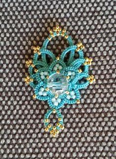 CM-Handmade: Pattern for 1 beaded flower