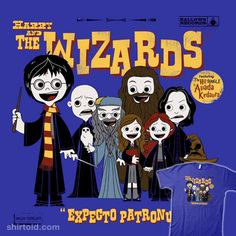 Harry and The Wizards #HarryPotter