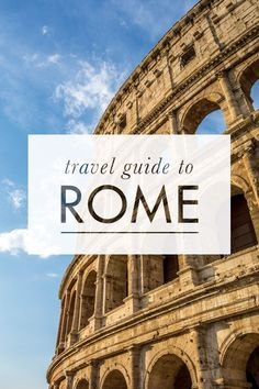 A comprehensive travel guide to backpacking Rome on a budget with tips on how to save money, cheap places to eat, and top things to do in and around Rome.