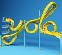 3D Works by FOREAL Studio | Abduzeedo Design Inspiration type design & typography