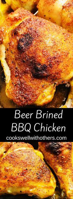 Chicken Honey, Beer Chicken, Canned Chicken, Smoked Whole Chicken, Chicken Dips, Grilled Chicken Recipes, Grilled Meat, Chicken Smoker Recipes, Chicken Beer Brine Recipe