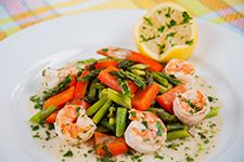 Learn all about asparagus and try this recipe for Asparagus with Lemon Garlic Shrimp. Springtime Asparagus with Lemon Garlic Shrimp - read this post from Diabetic Gourmet Magazine and find more recipes and resources for diabetic living. Lemon Garlic Shrimp, Shrimp And Asparagus, Fresh Asparagus, Shrimp Recipes, Diet Recipes, Vegetarian Recipes, Healthy Recipes, Healthy Food, Healthy Dinners