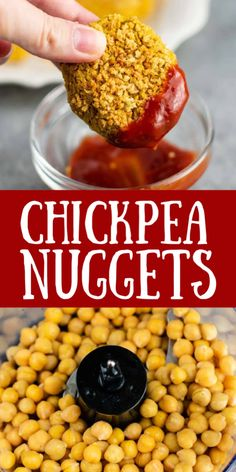Chickpea Recipes Easy, Vegetarian Recipes Dinner, Vegan Dinners, Easy Healthy Recipes, Veggie Recipes, Vegetarian Options, Healthy Meals For Kids, Healthy Baking, Healthy Snacks
