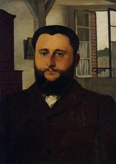 Portrait of Thadee Nathanson - Felix Vallotton