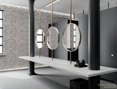 Extravagauza Interiors | Contemporary office toilet design www.extravagauza.... #luxury #interior #design #offices #minimalism #interiordesigners