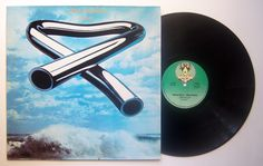 Mike Oldfield / LP Tubular Bells GR: 2473 722 Green label with yellow twins